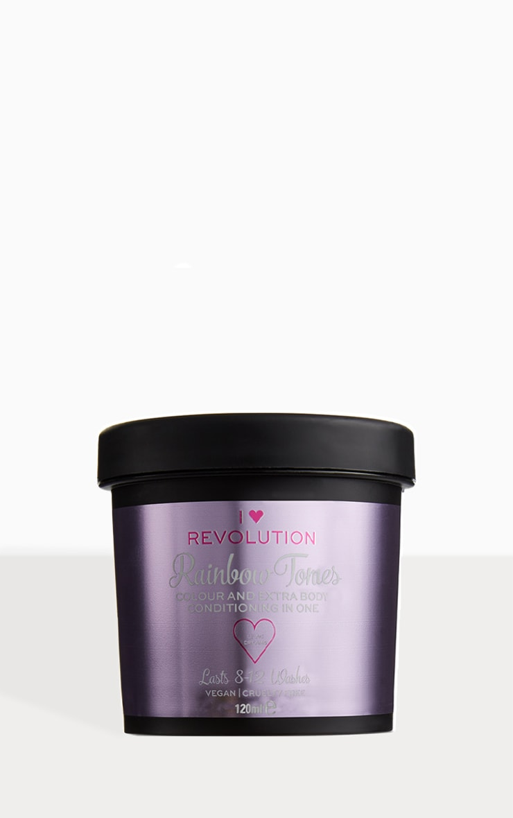 I Heart Revolution Rainbow Hair Colour Tones Lilac Dreams 1