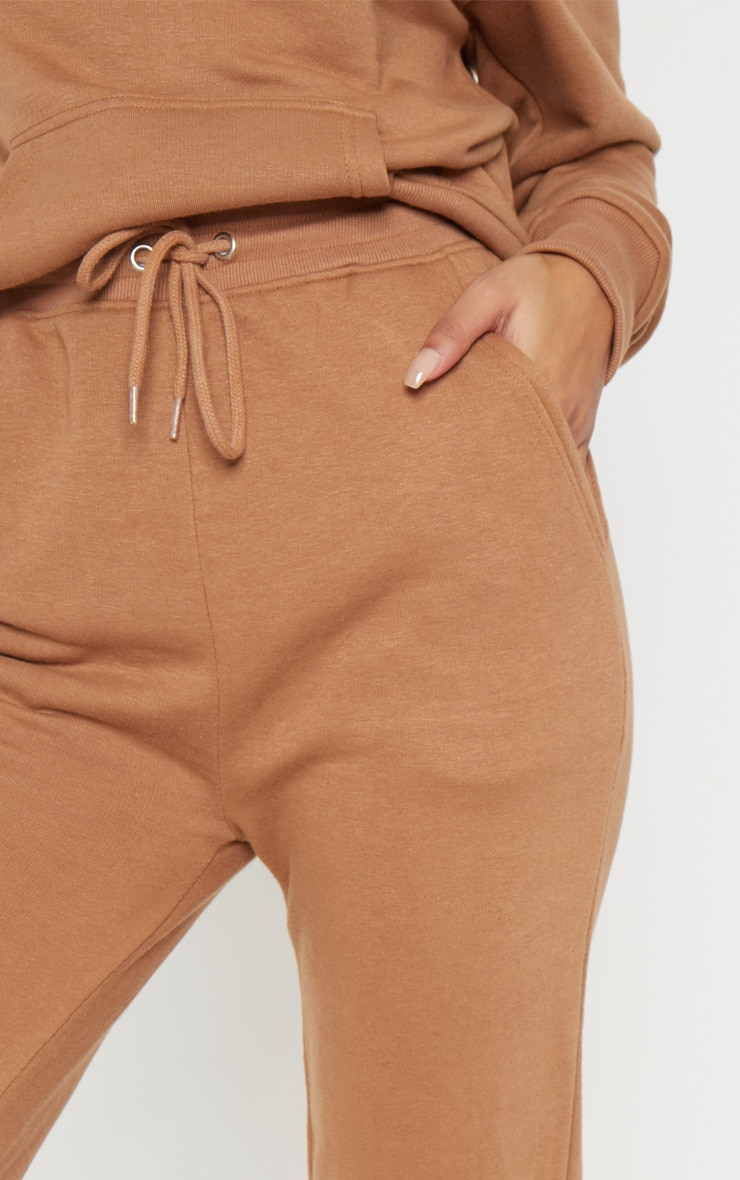 Taupe Sweat Cuff Jogger 5