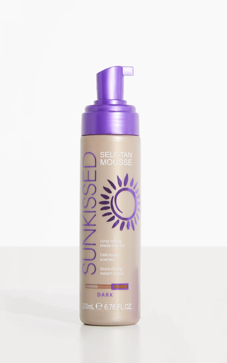 Sunkissed Dark Self-Tan Mousse 1