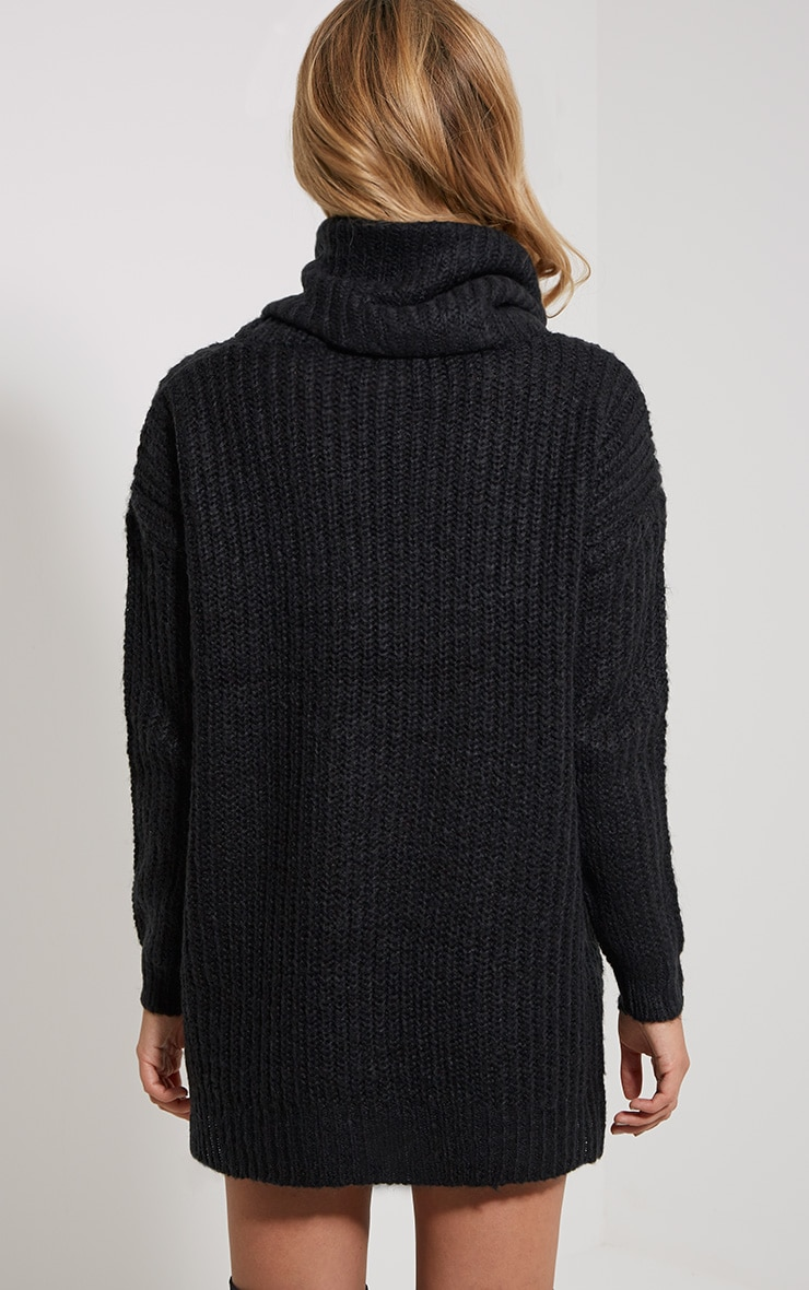 Tayte Black Turtle Neck Jumper 2