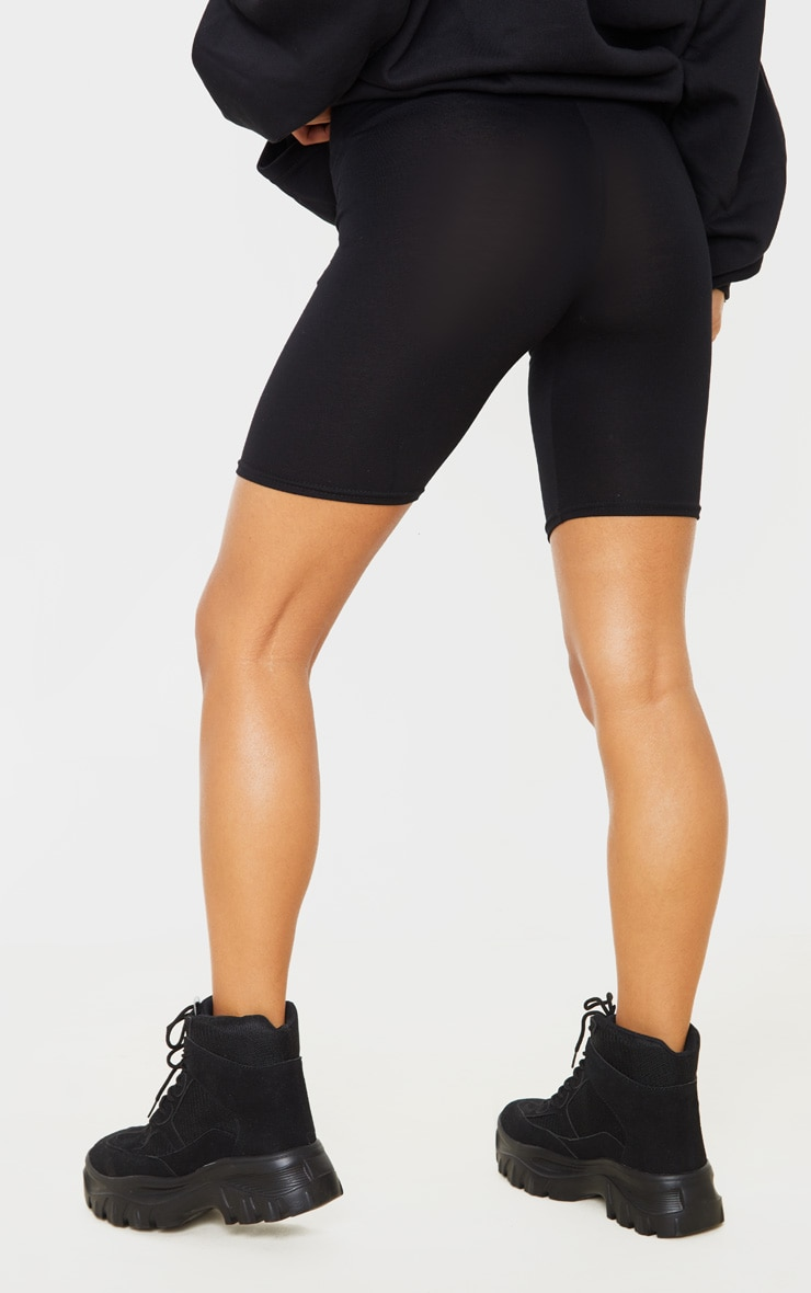 Basic Black Cycle Shorts 4