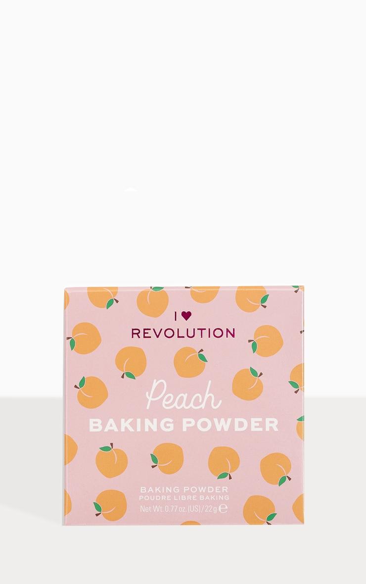 I Heart Revolution Loose Baking Powder Peach 1