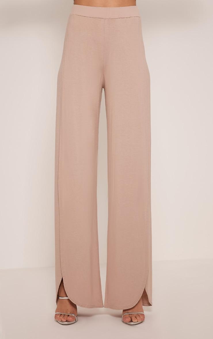 Mona Stone Split Jersey Trousers 2