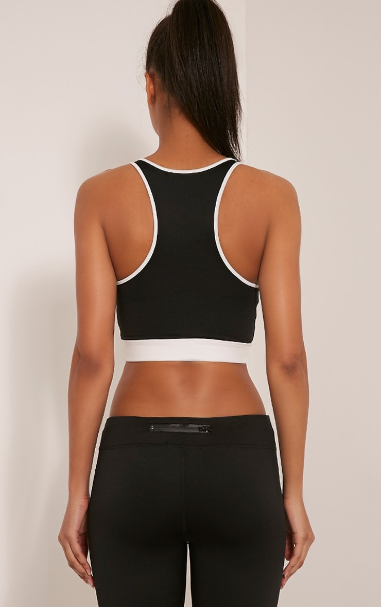 Jaya Black 'No Limits' Sports Bra 2