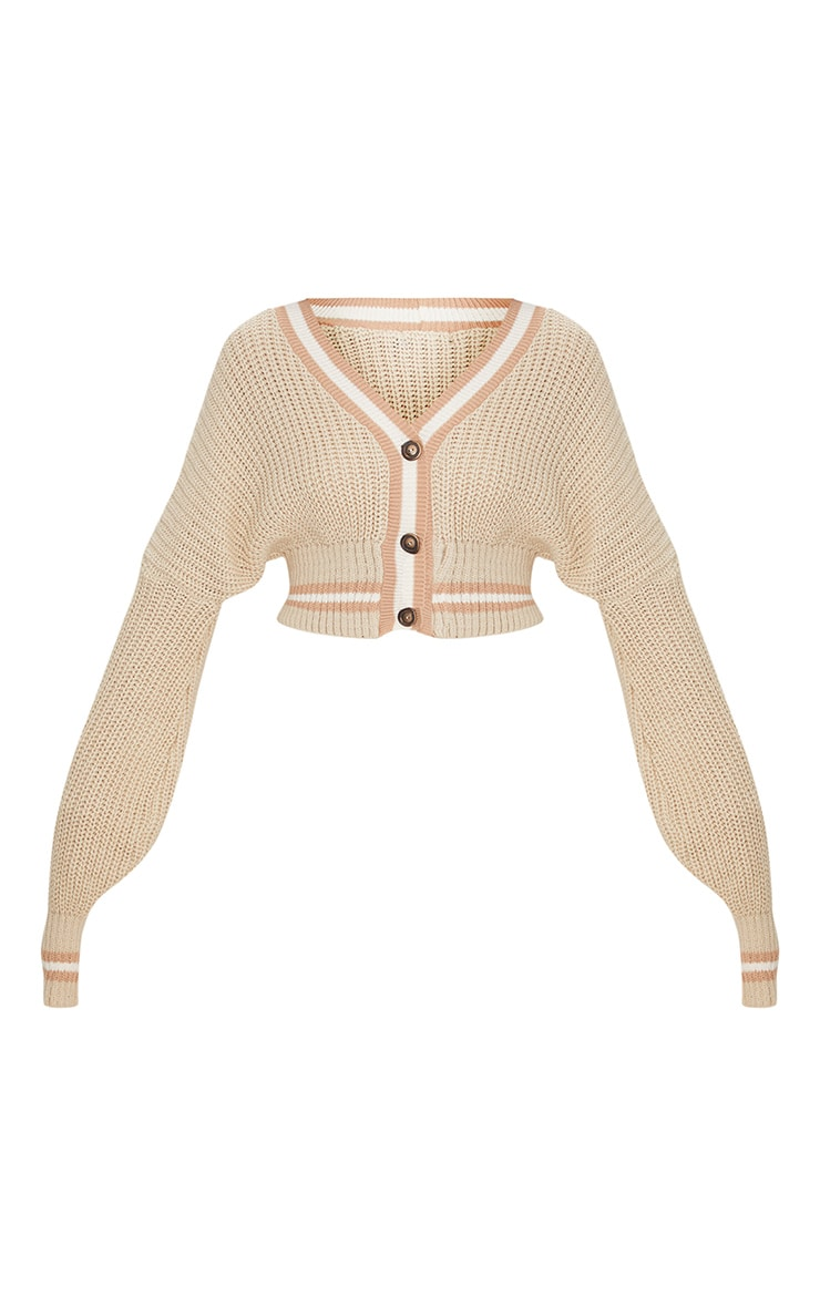 Stone Crop Extreme Sleeve Knitted Cardigan 4