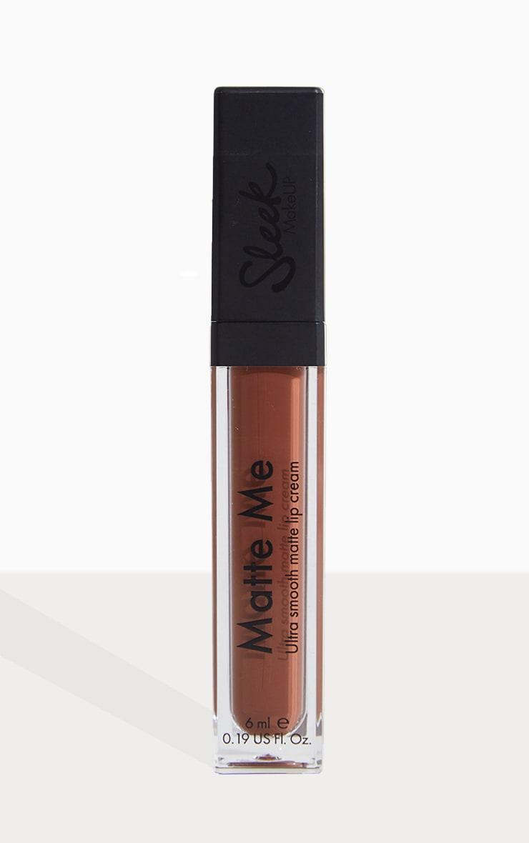 Sleek MakeUP Matte Me Lip Cream Roasted Almond 2