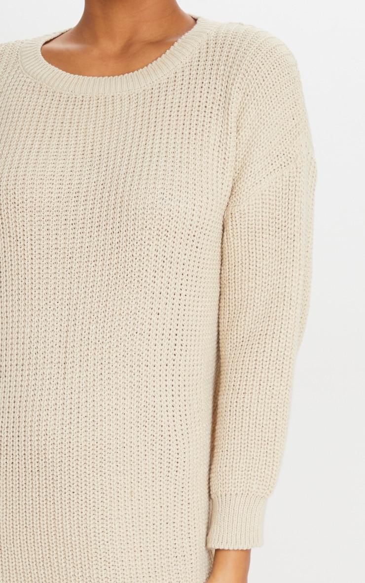Stone Basic Knit Jumper Dress 5