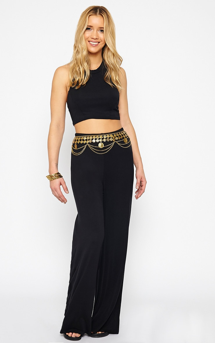 Radley Black Halterneck Crop Top 3