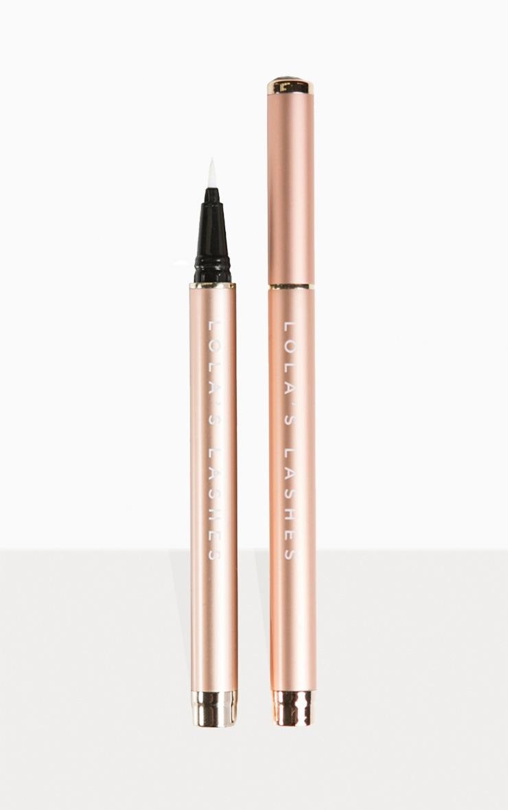 Lola's Lashes Flick & Stick Lash Adhesive Pen Clear 3
