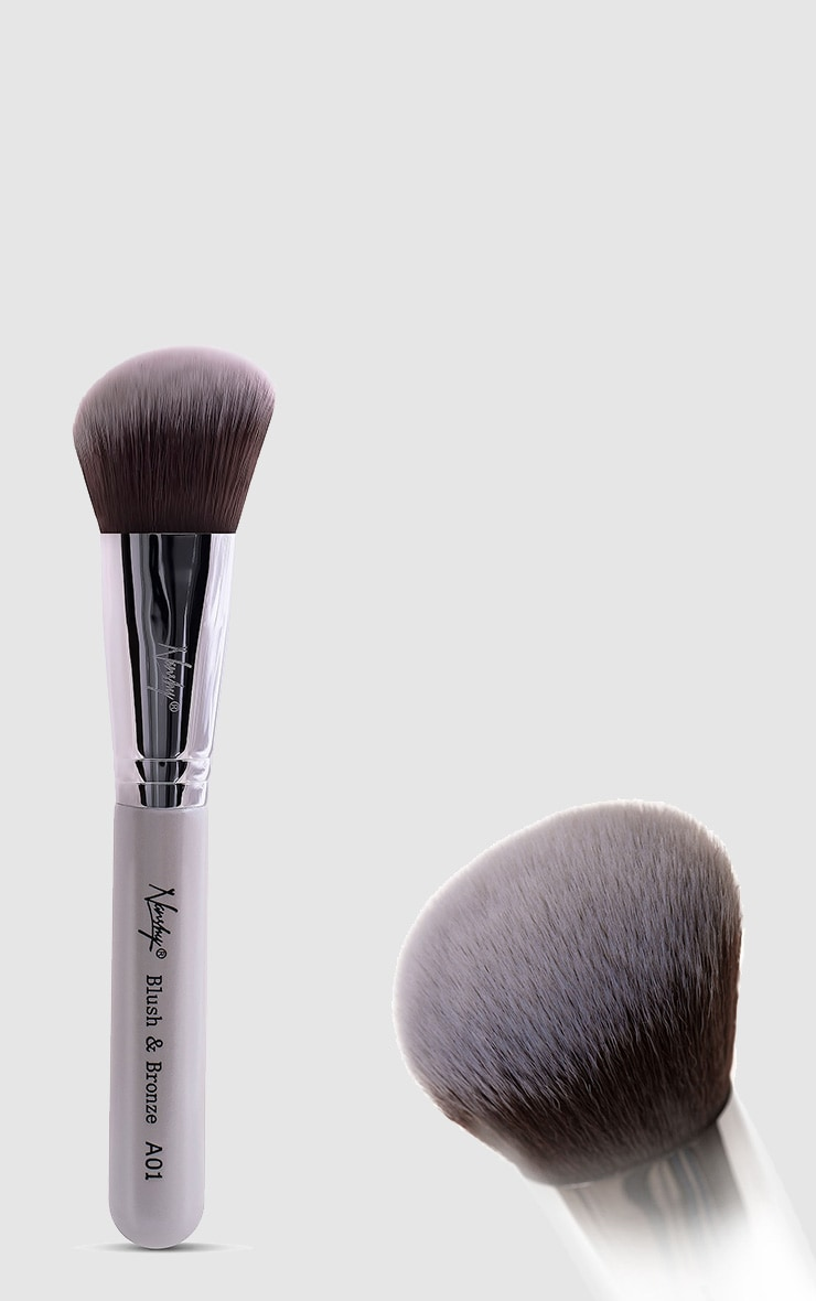 Nanshy Gobsmack Glamorous Pearlescent White Brush Set 6