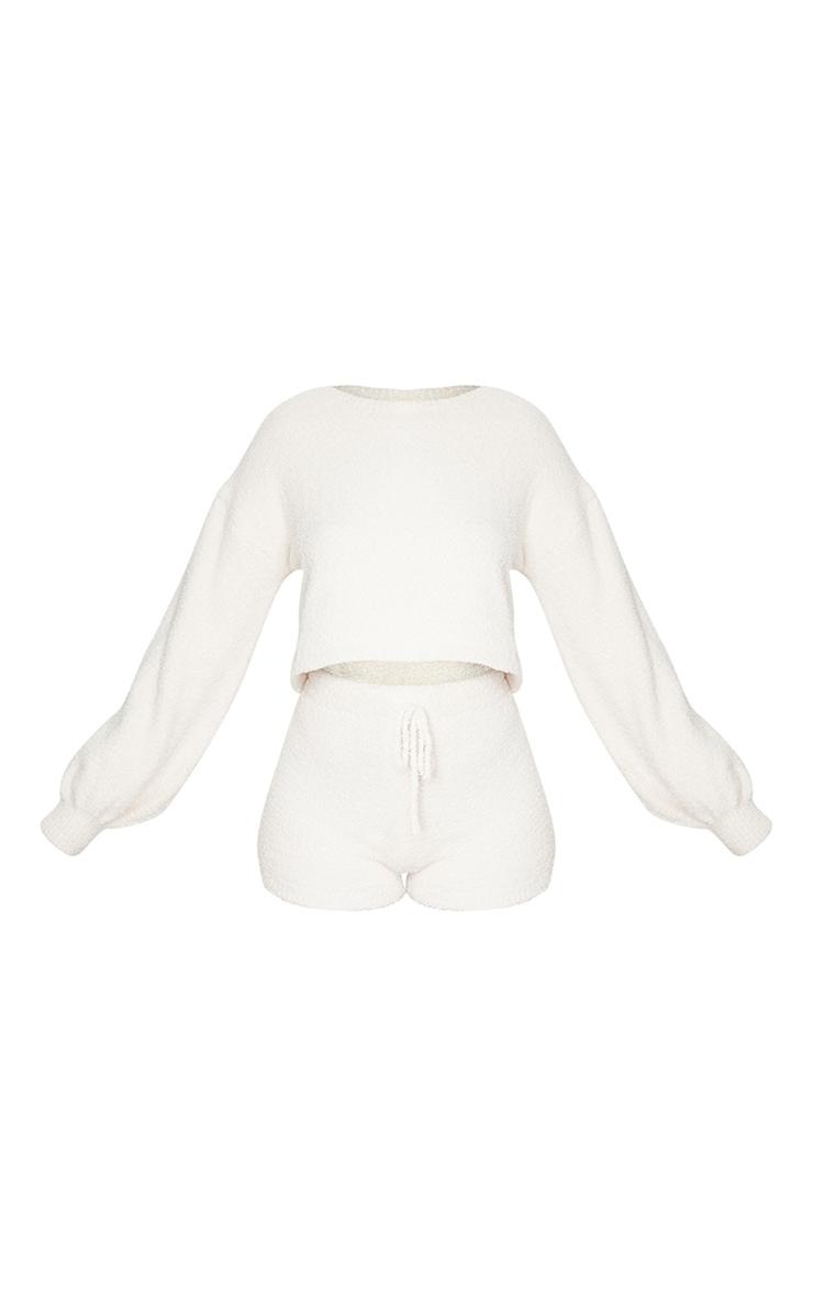 Shape White Thick Rib Cup Detail Bodycon Dress 5