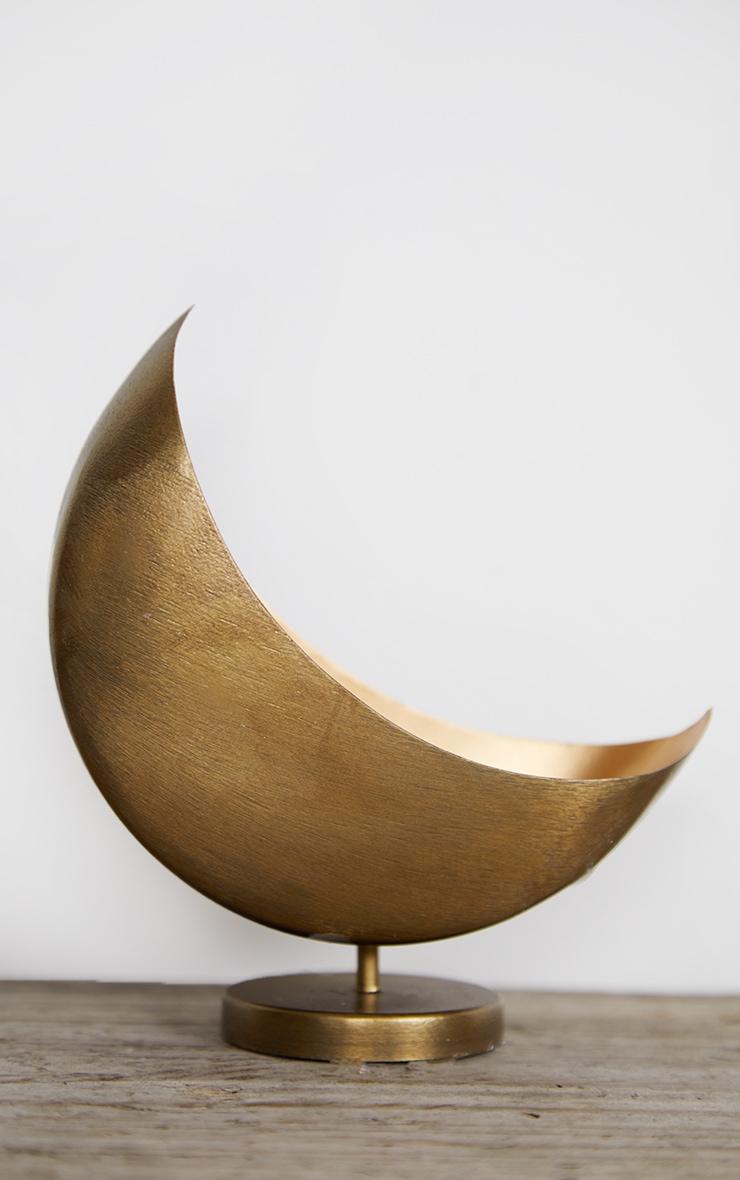 Gold Mini Celestial Moon Planter 4