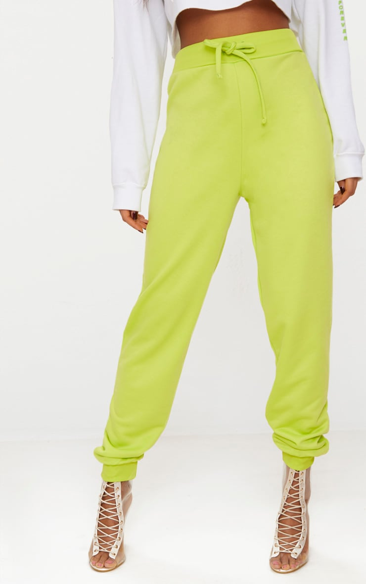 Lime Ultimate Sweat Joggers 2