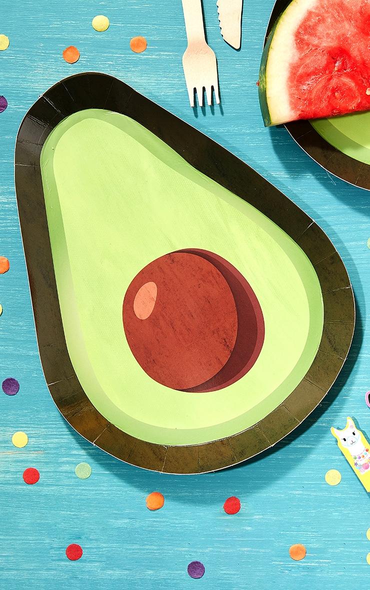 Ginger Ray Avocado Shaped Plate 1