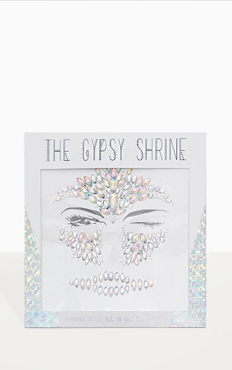 The Gypsy Shrine Diamond Skull