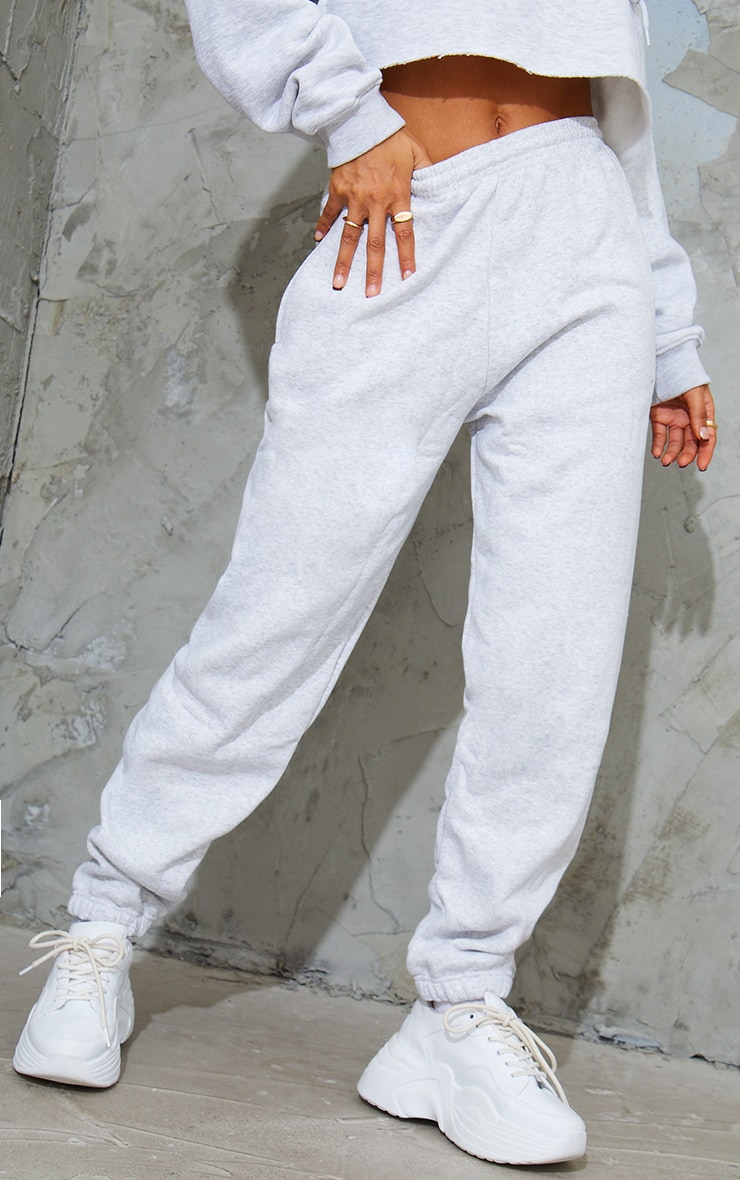 Ash Grey Sweat Track Pants 2