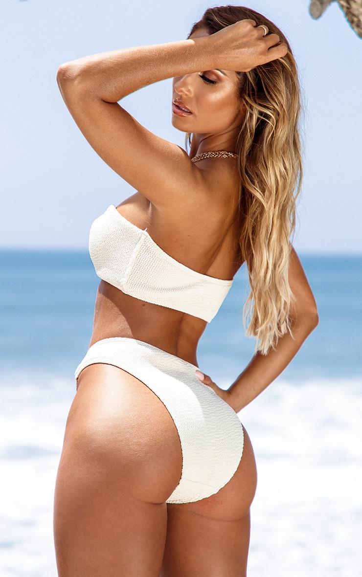 Sand Ring Detail Crinkle Bikini Bottom 2
