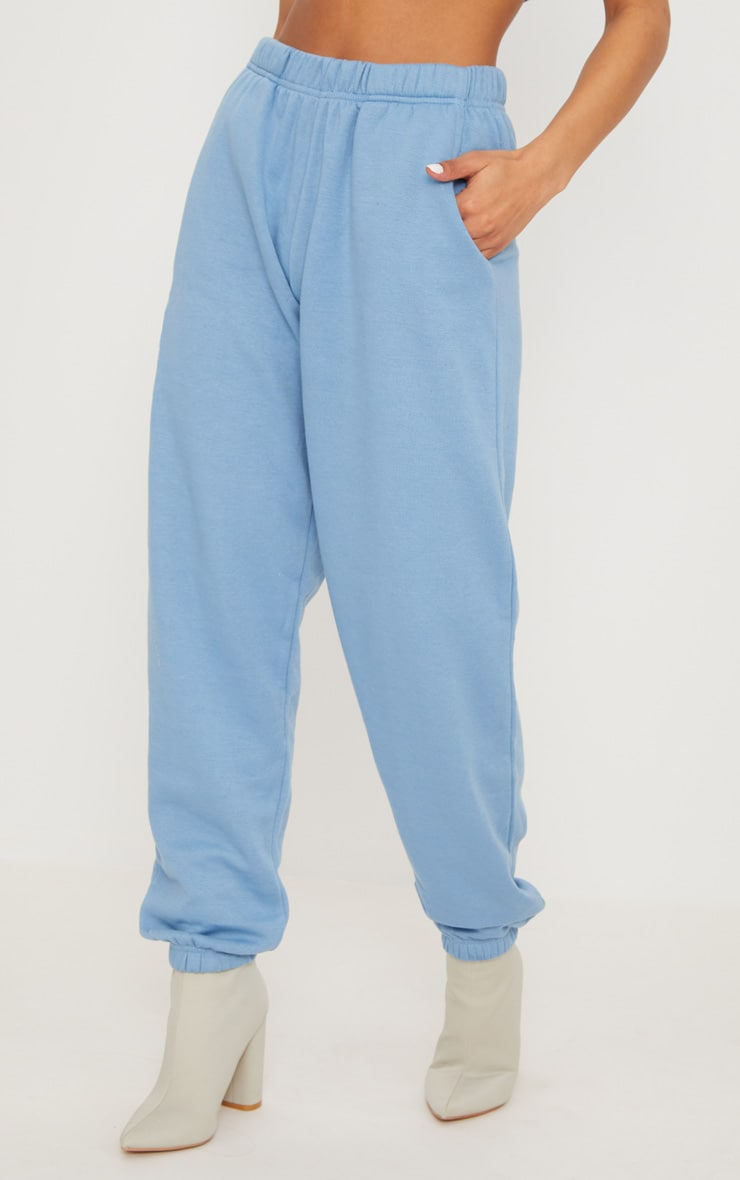 Dusty Blue Casual Jogger 2