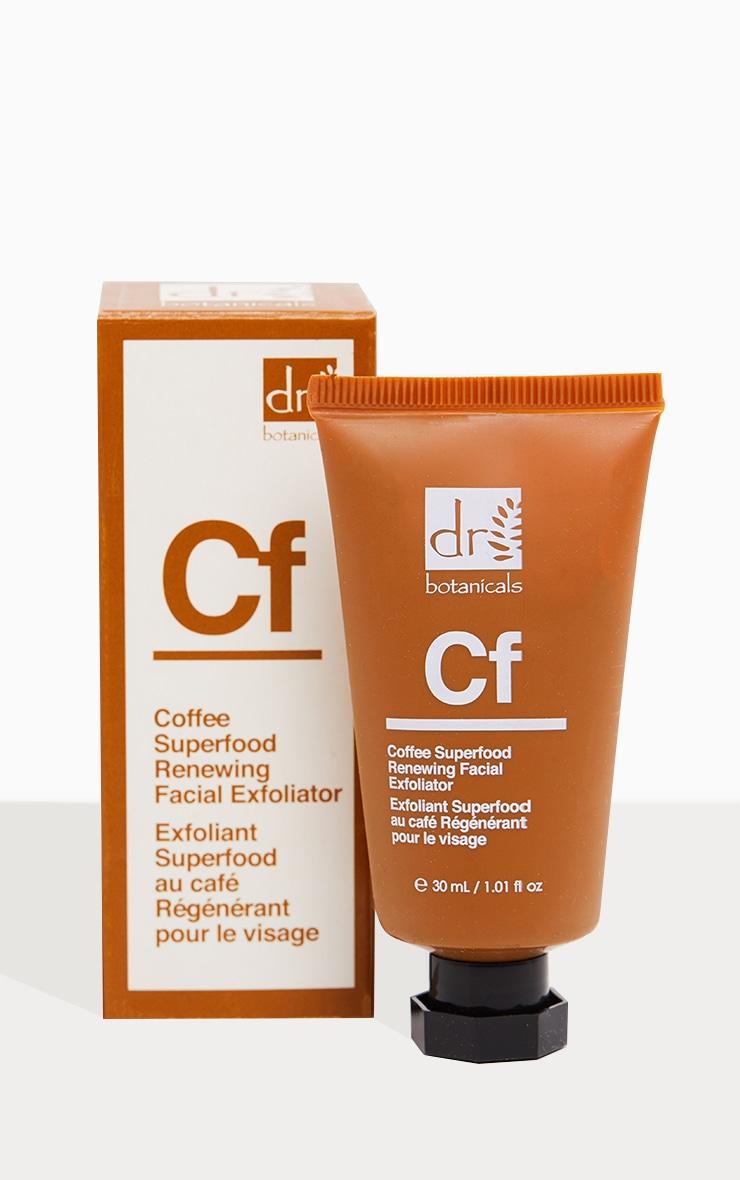Dr Botanicals Coffee Superfood Renewing Facial Exfoliator (Travel Size) 2