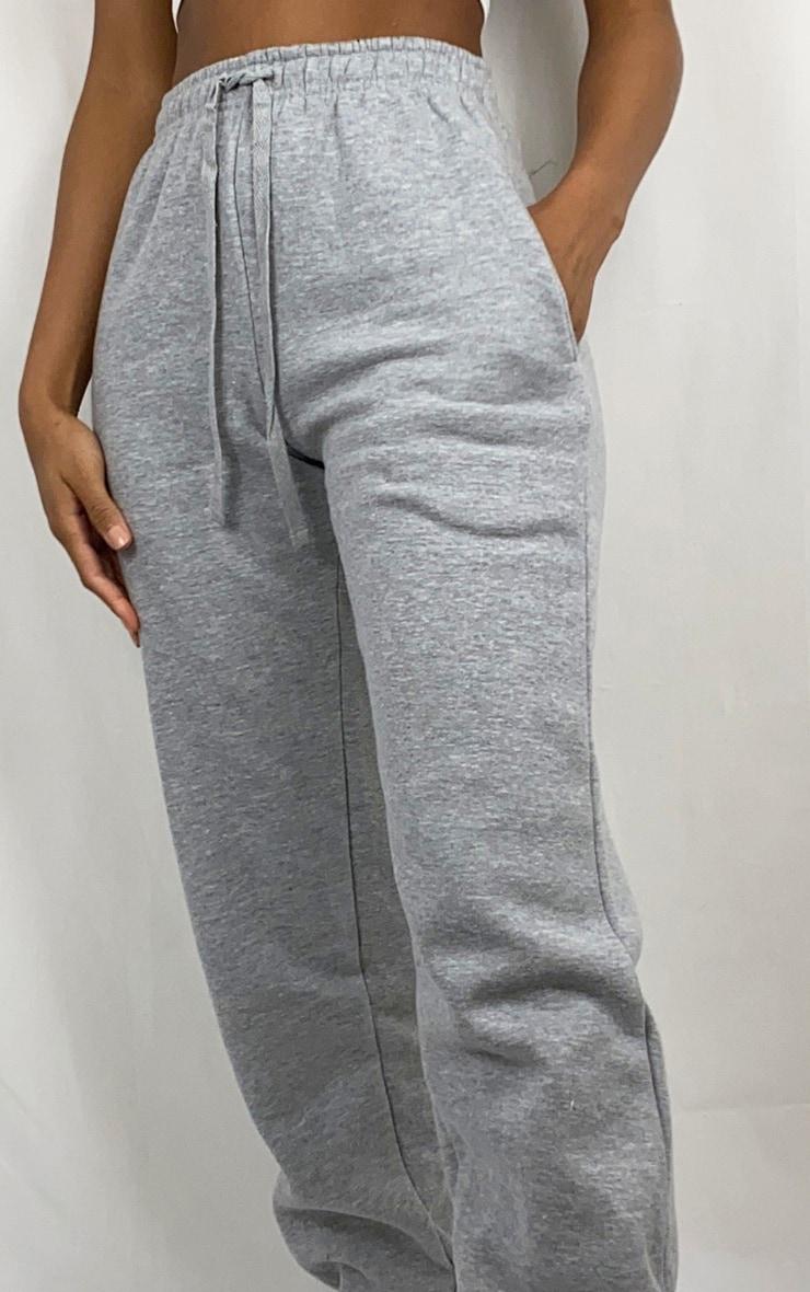 Grey Casual Sweat Pants 4