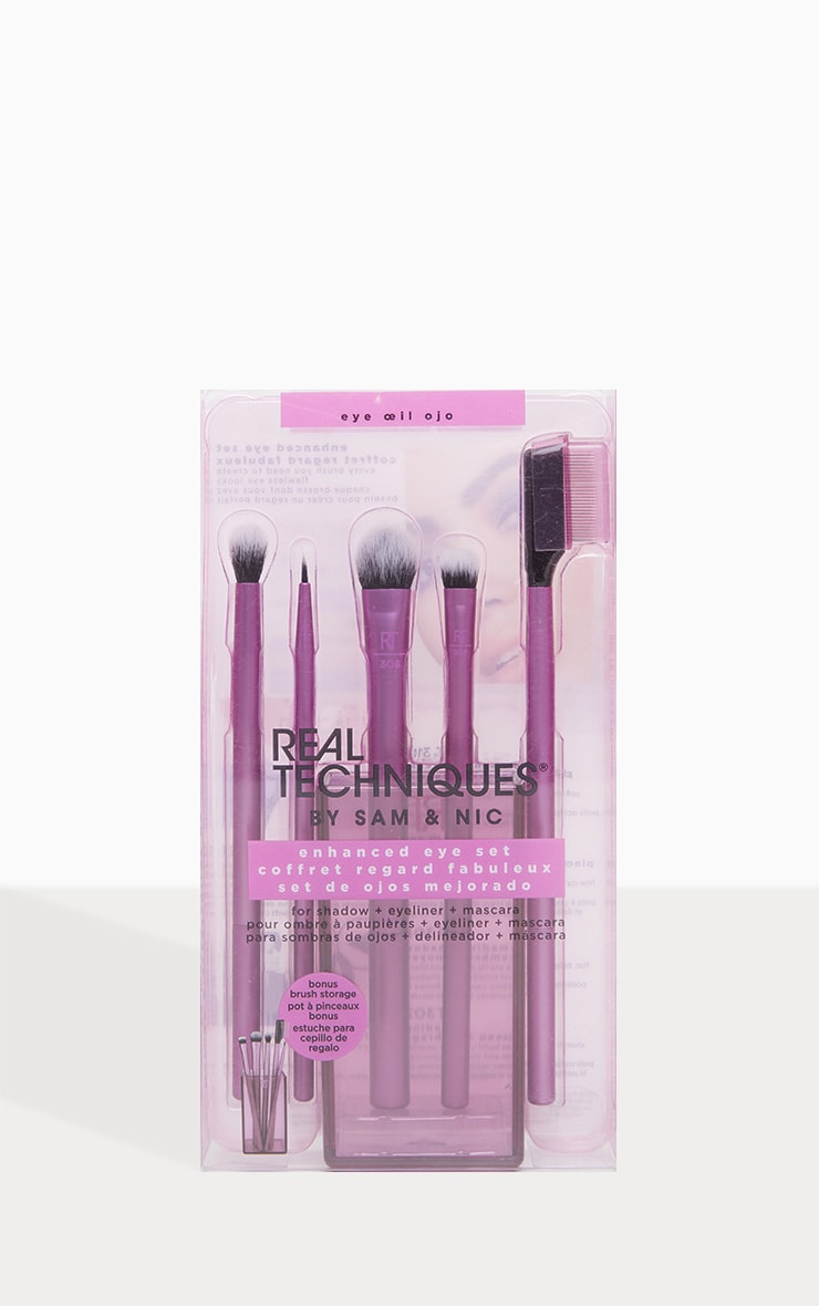 Real Techniques Enhanced Eye Makeup Brush Set 3