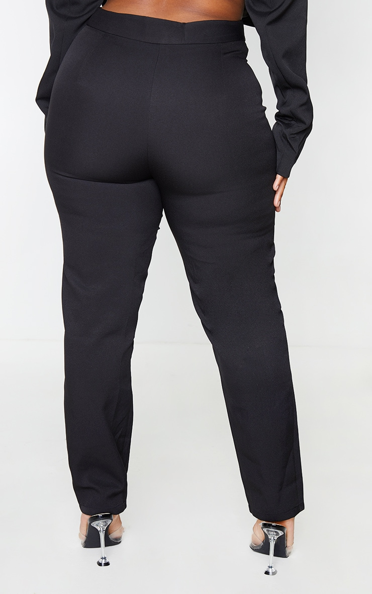 Plus Black Avani Suit Pants 3