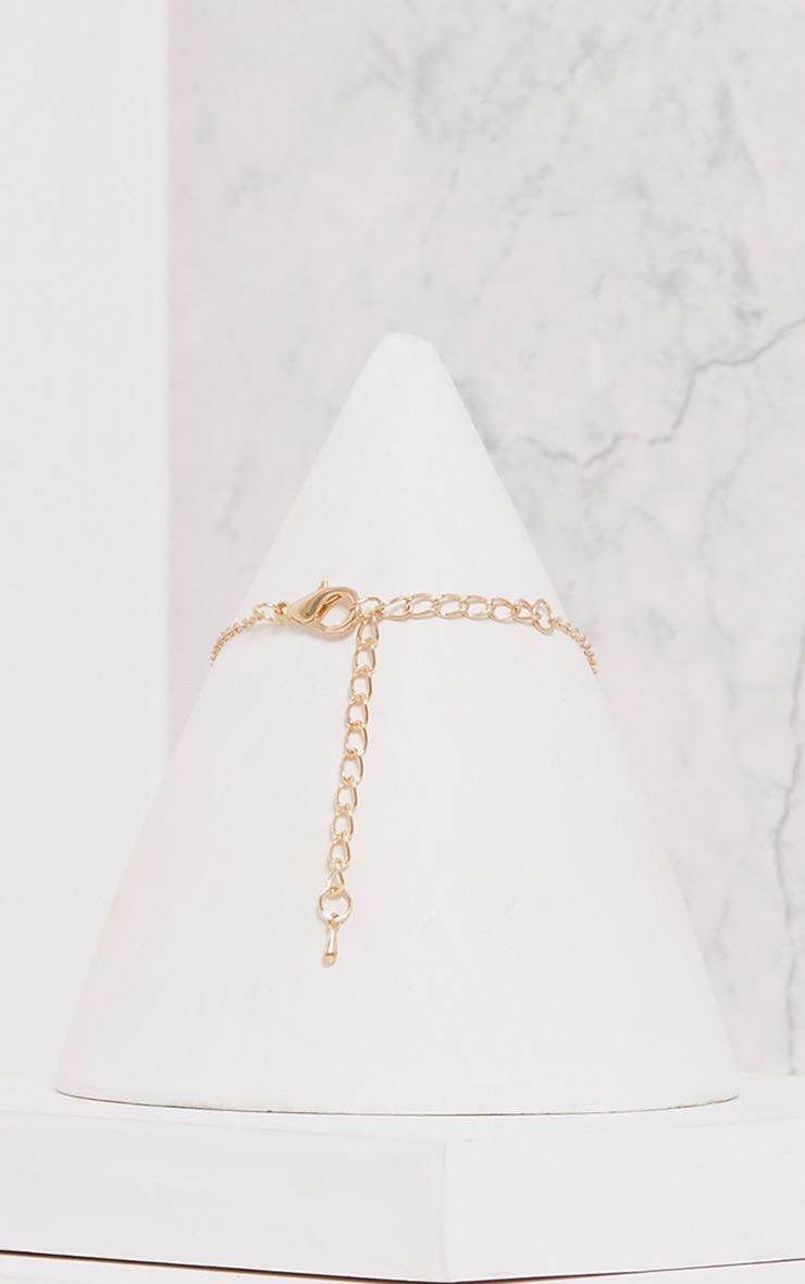 Shivani Gold Delicate Ring Choker 3