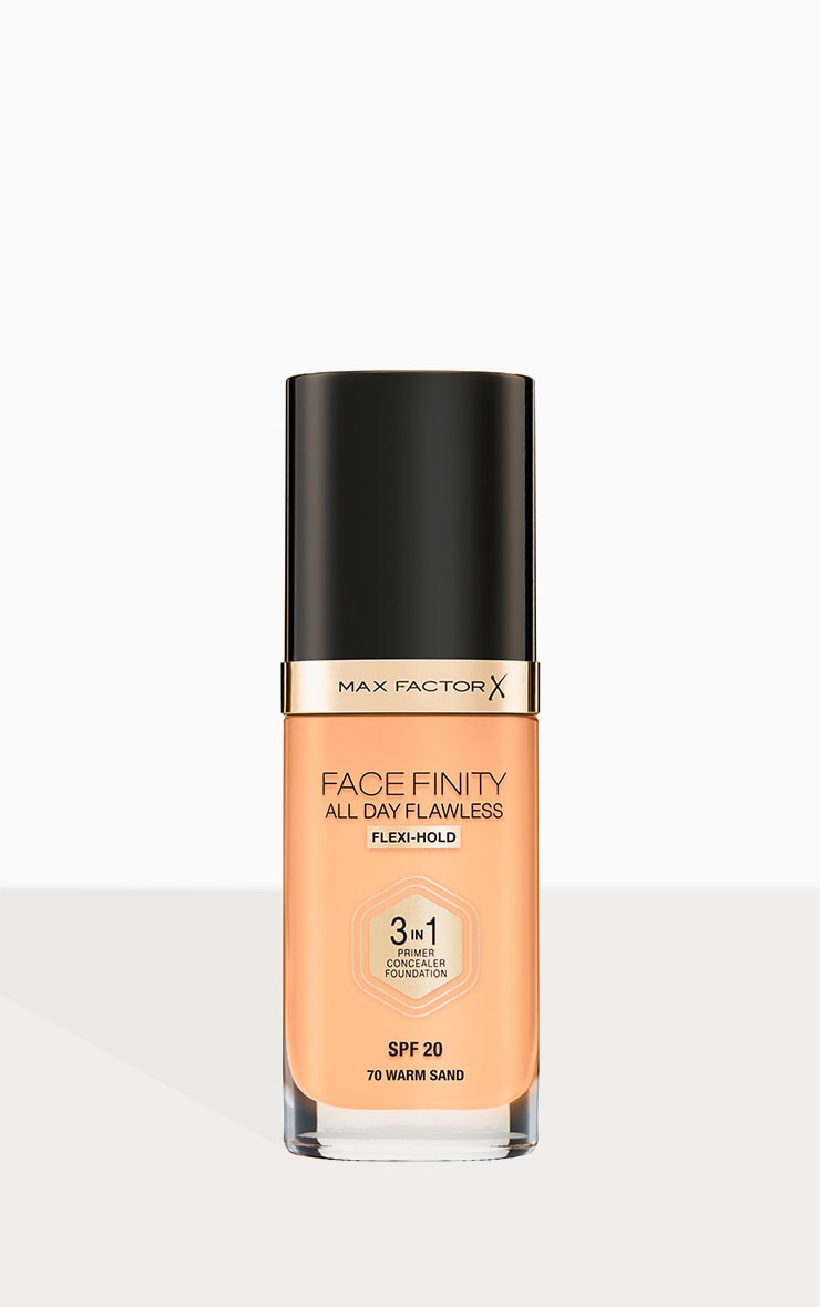 Max Factor Facefinity All Day Flawless Foundation Warm Sand 1