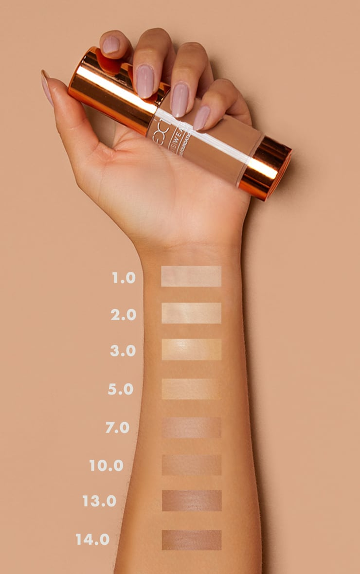 EX1 Cosmetics Invisiwear Liquid Foundation 7.0 3