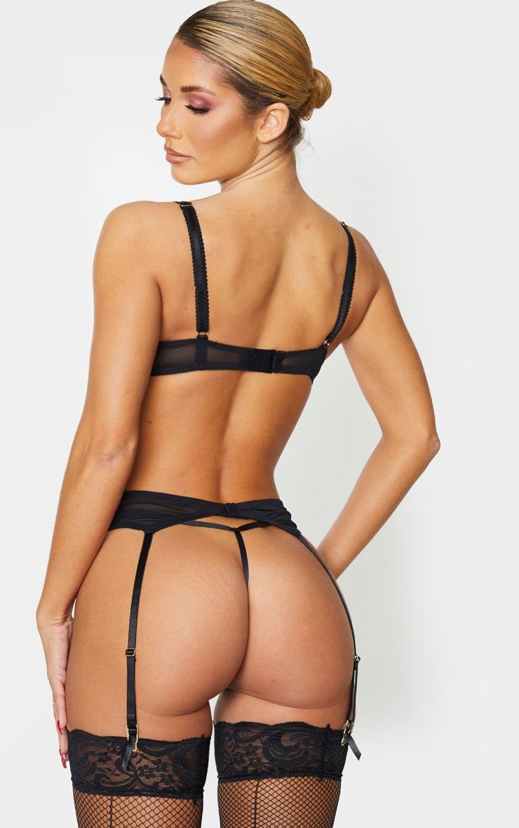 Ann Summers - Soutien-gorge sexy noir décolleté en dentelle 2