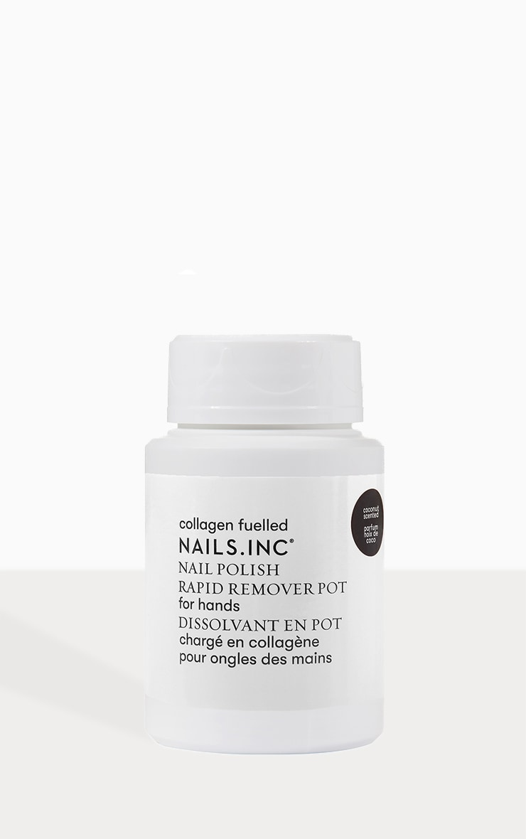 Nails Inc Collagen Nail Polish Remover Pot 1