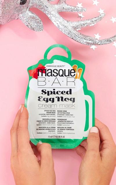 MasqueBAR Spiced Egg Nog Cream Mask