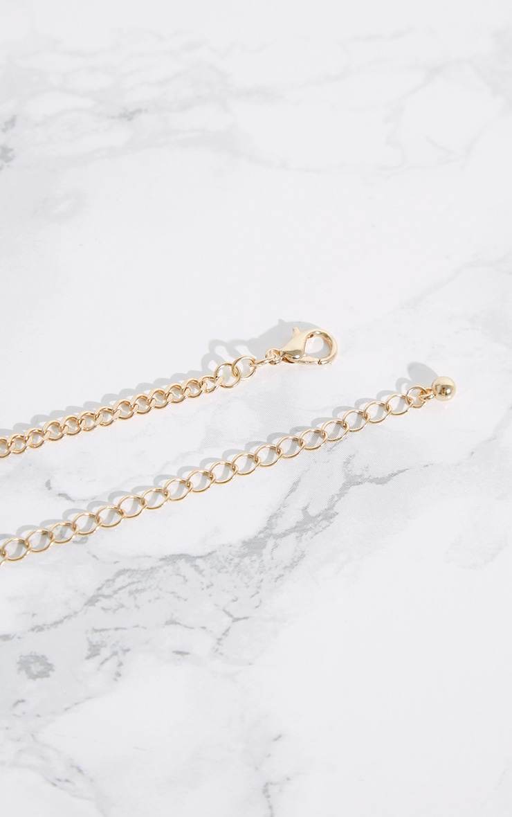 Gold Shell Anklet 4