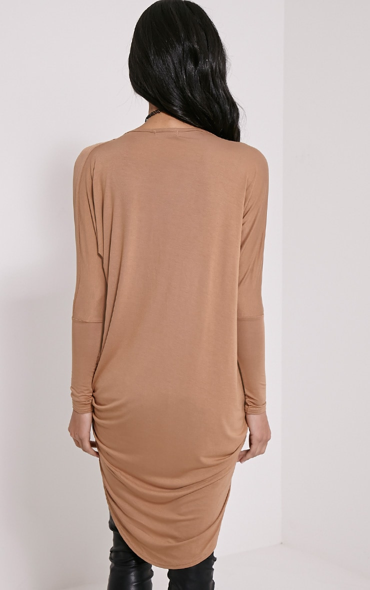 Chastity Camel Long Twist Front Top 2