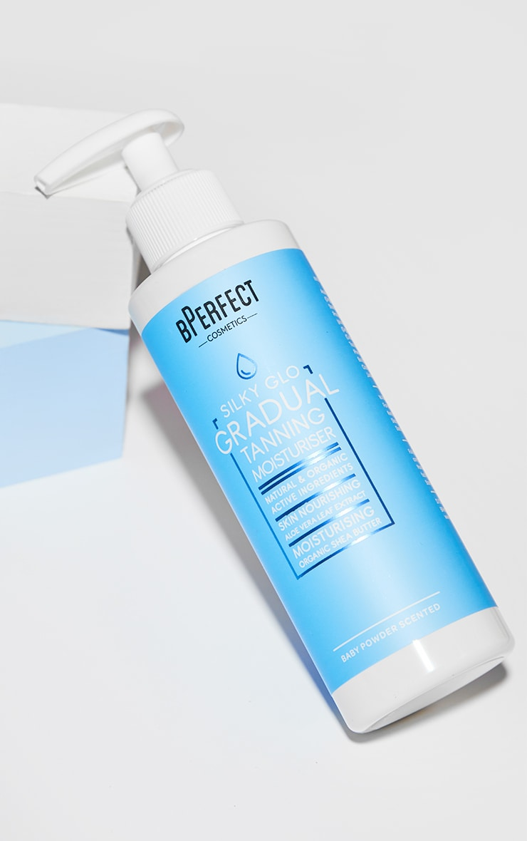 BPerfect Cosmetics Silky Glo Gradual Tanning Moisturiser 200ml 1