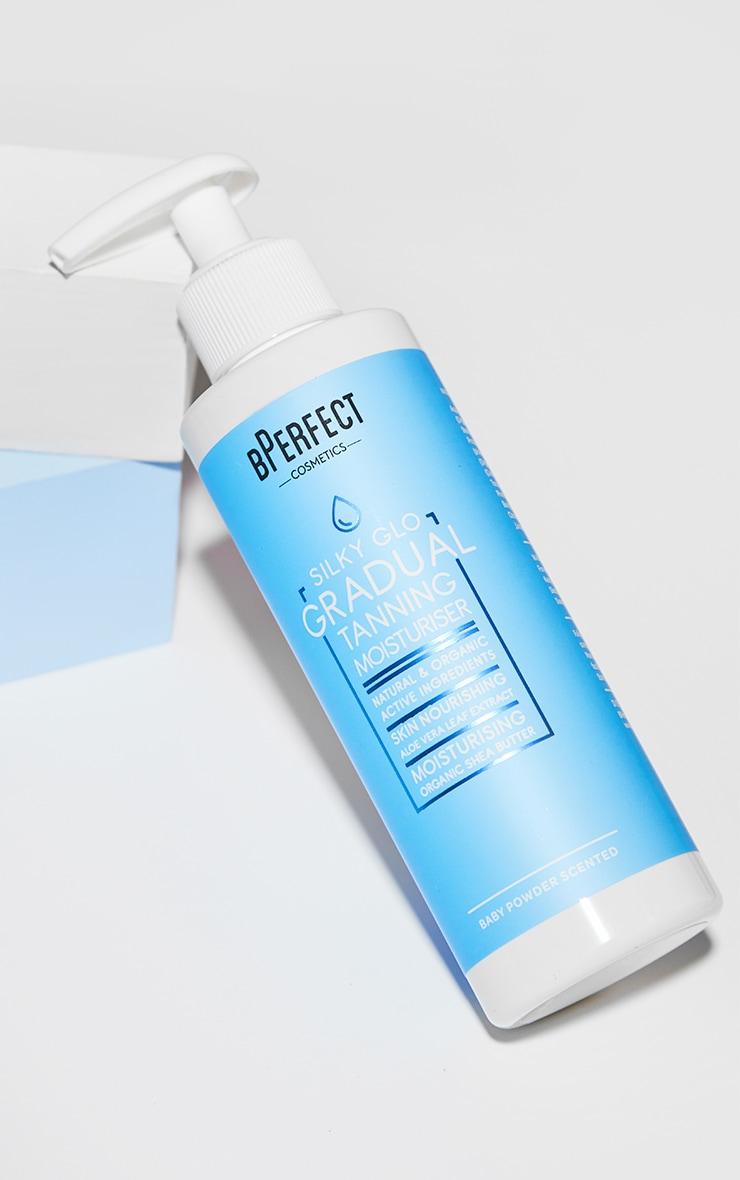 BPerfect Cosmetics Silky Glo Gradual Tanning Moisturiser 200ml image 1