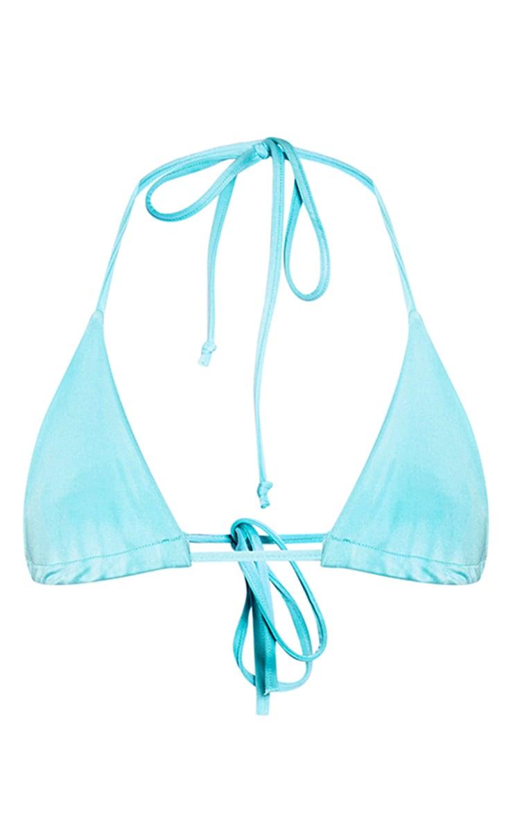 Aqua Triangle Bikini Top 6