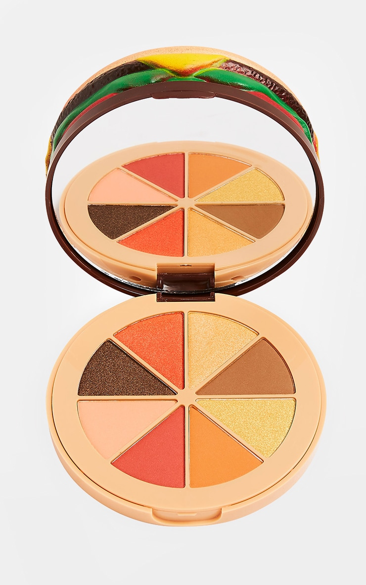 I Heart Revolution Burger Eyeshadow Palette