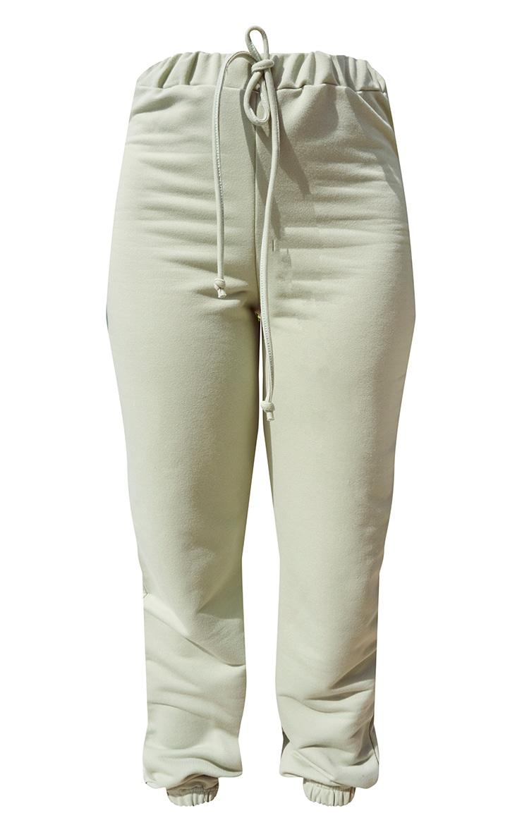 Sage Green Lightweight High Waist Jogger 5