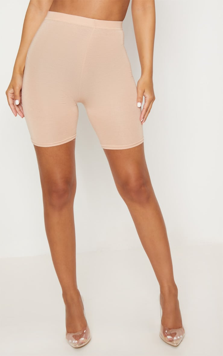 Petite Nude Basic Cycle Shorts 2
