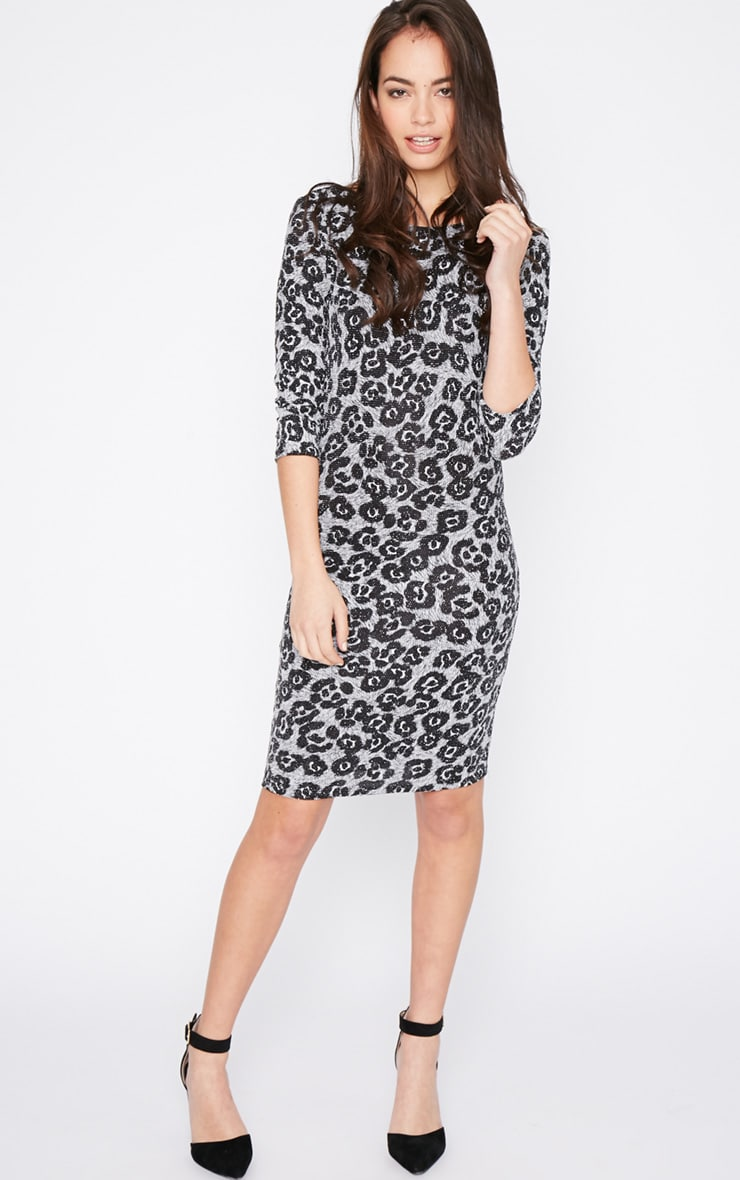 Dina Glitter Leopard Dress 3