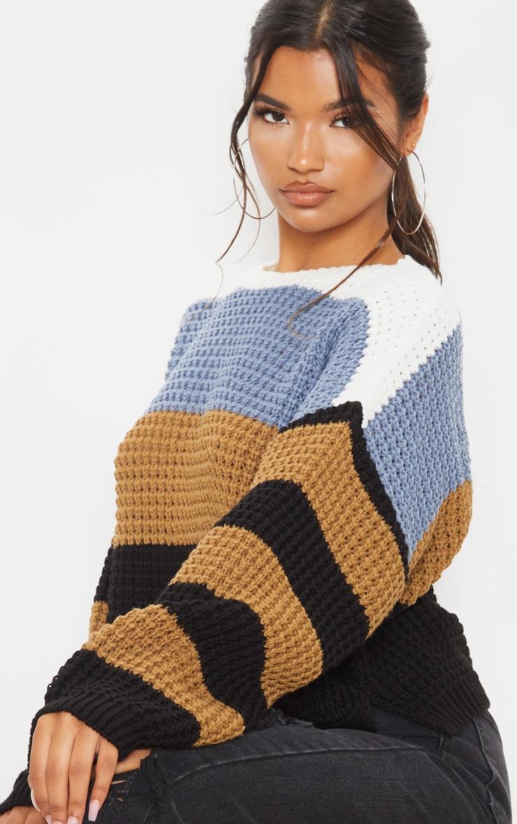 Multi Stripe Knitted Sweater 6