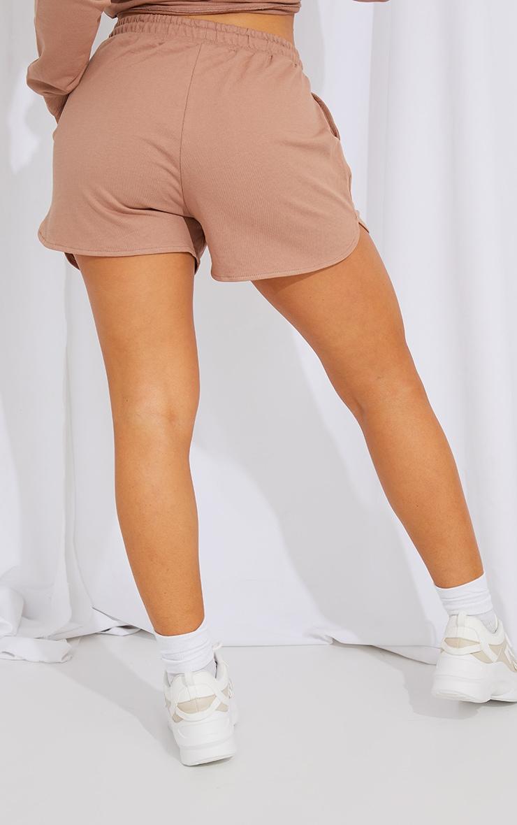Mocha Sweat Shorts 3