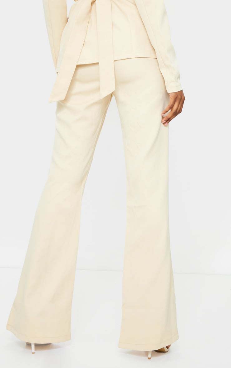 Tall Stone Fitted Flare Suit Pants 3