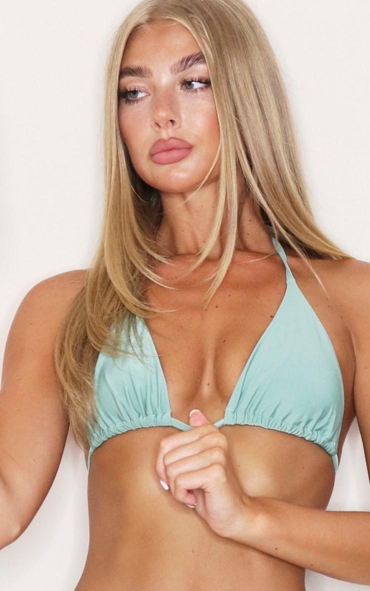 Jade Green Mix & Match Triangle Bikini Top 4