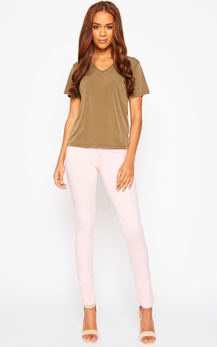 Baby Pink Jeggings 1