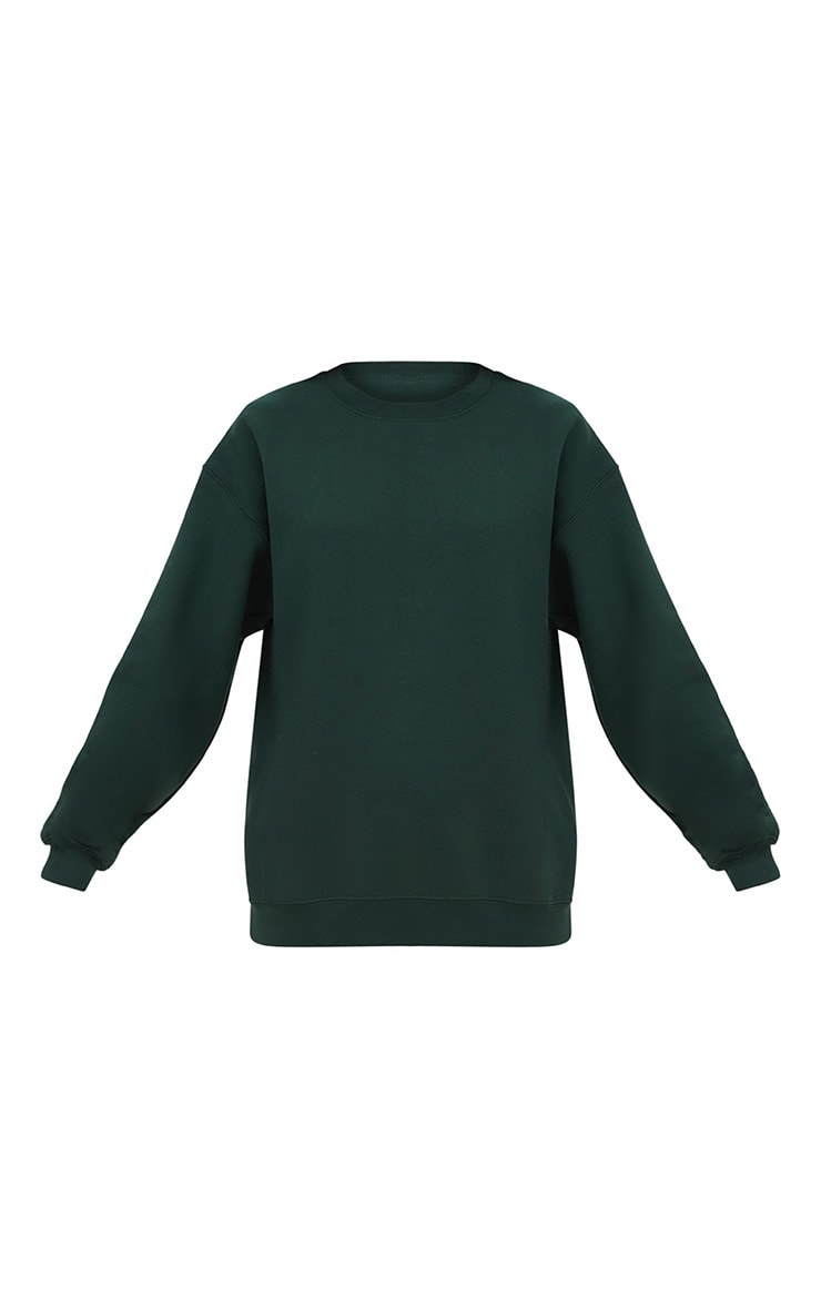 Forest Green Ultimate Oversized Sweater 3