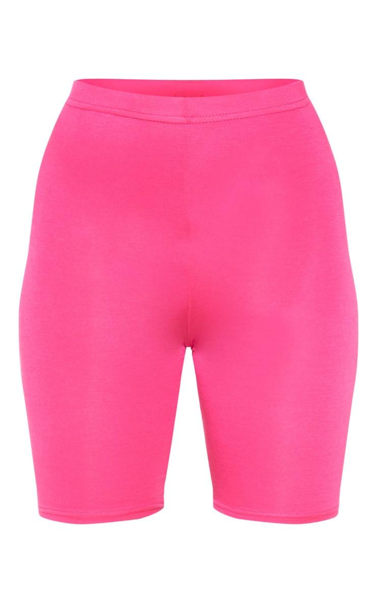 Fuchsia Basic Bike Shorts 3