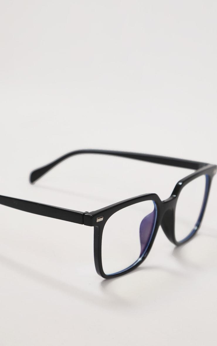 Black Classic Frame Blue Light Readers 2