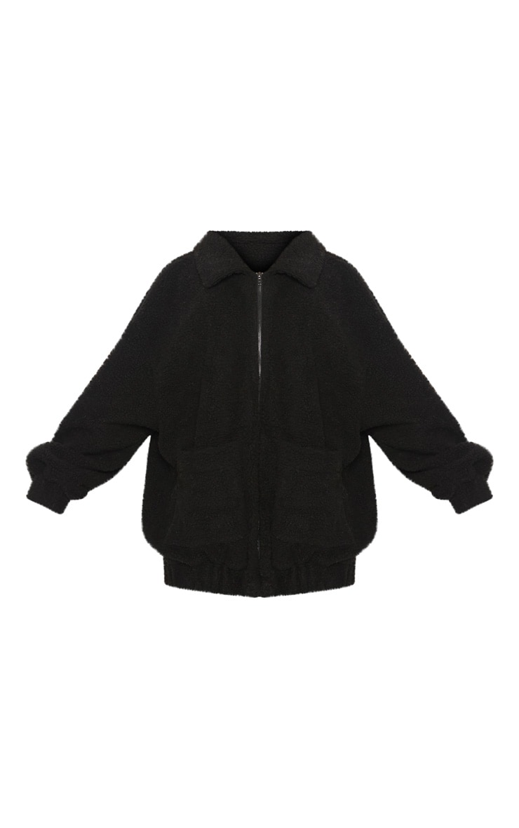 Black Borg Pocket Front Coat  3